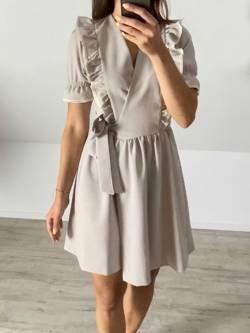 Sukienka Matilde beż