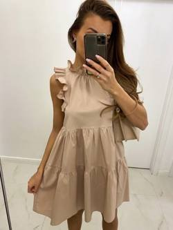 Sukienka Rimini Beżowa